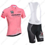2014 Tour de Italia Cycling Bib Kit Pink