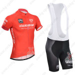 2014 Tour de Italia Cycling Bib Kit Red