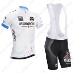 2014 Tour de Italia Cycling Bib Kit White