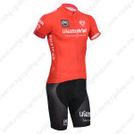 2014 Tour de Italia Cycling Kit Red