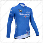 2014 Tour de Italia Cycling Long Jersey Blue