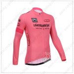 2014 Tour de Italia Cycling Long Jersey Pink