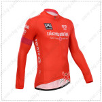 2014 Tour de Italia Cycling Long Jersey Red