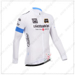 2014 Tour de Italia Cycling Long Jersey White