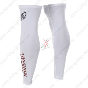2015 Team AG2R LA MONDIALE Cycling Leg Warmers Sleeves