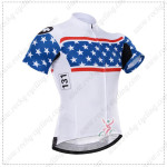 2015 Team ASSOS Cycling Jersey White Blue