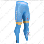 2015 Team ASTANA Cycling Long Pants Blue