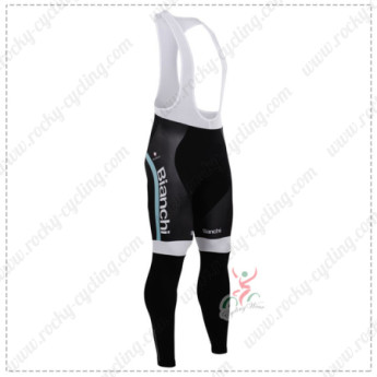 2015 Team BIANCHI Cycling Long Bib Pants Tights
