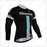 2015 Team BIANCHI Cycling Long Sleeves Jersey