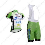 2015 Team Bardiani Cycling Bib Kit Green
