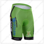 2015 Team Bardiani Cycling Shorts Green