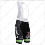 2015 Team Belkin Cycling Bib Shorts ciclismo babero