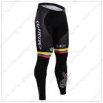 2015 Team COLOMBIA Bicycle Long Pants