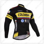 2015 Team COLOMBIA Cycling Long Jersey