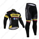 2015 Team COLOMBIA Cycling Long Kit Black