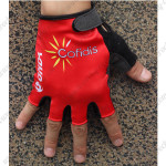 2015 Team Cofidis Cycling Gloves Mitts Red