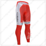 2015 Team Cofidis Cycling Pants Tights Red White