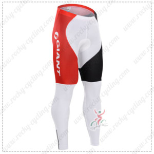 2015 Team GIANT Alpecin Cycling Long Pants Red Black