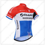 2015 Team GIANT SHIMANO Cycling Jersey Red Blue