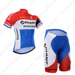 2015 Team GIANT SHIMANO Cycling Kit Red Blue