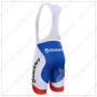 2015 Team GIANT SHIMANO Riding Bib Shorts Red Blue