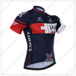 2015 Team IAM SCOTT Cycling Jersey Blue