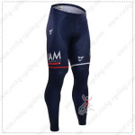 2015 Team IAM SCOTT Cycling Long Pants Tights Blue