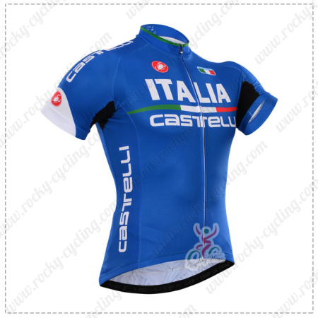 2015 Team ITALIA Castelli Cycle Wear Riding Jersey Maillot Shirt ... a848d49a9
