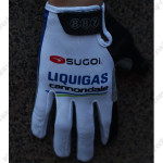 2015 Team LIQUIGAS cannondale SUGOi Winter Cycling Thermal Fleece Gloves White