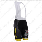 2015 Team LOTTO JUMBO Cycling Bib Shorts Yellow Black