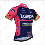 2015 Team Lampre MERIDA Cycling Jersey Blue Pink