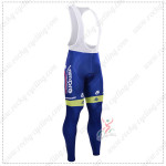 2015 Team Lampre MERIDA Cycling Long Bib Pants pantalones de ciclo