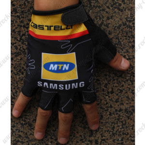 2015 Team MTN Cycling Gloves Mitts Black Yellow2015 Team MTN Cycling Gloves Mitts Black Yellow