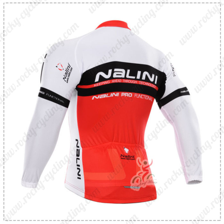 2015 Team Nalini Pro Cycle Wear Riding Long Sleeves Jersey Maillot ... c68edaa48