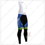 2015 Team ORICA GreenEDGE Cycling Bib Pants Tights White Blue