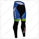 2015 Team ORICA GreenEDGE Cycling Pants Tights White Blue