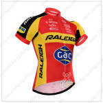 2015 Team RALEIGH Cycling Jersey Red Yellow