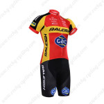2015 Team RALEIGH Cycling Kit Red Yellow