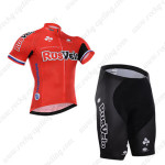 2015 Team RusVelo Cycling Kit Red