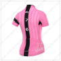 2015 Team SKY Women's Bicycle Jersey Pink