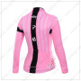 2015 Team SKY Women's Riding Long Sleeves Jersey Pink