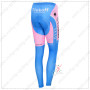 2015 Team Tinkoff SAXO BANK Women's Biking Long Pants Pink Blue