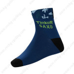 2015 Team Tinkoff SAXO Cycling Socks Blue