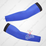 Pro Cycling Arm Warmers Blue