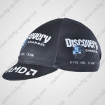2007 Team Discovery Cycling Cap Hat Black