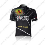 2009 Spider Thread Cycling Jersey Black