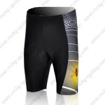 2009 Spider Thread Cycling Shorts Black