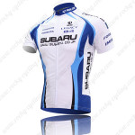 2009 Team SUBARU Bike Jersey White Blue