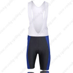 2009 Team SUBARU Cycling Bib Shorts Black Blue