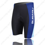 2009 Team SUBARU Cycling Shorts Black Blue